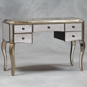 Black french style dressing table