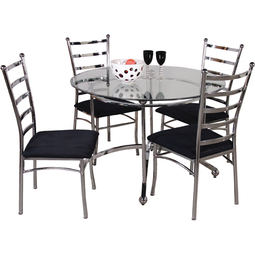 Bistro Set (Table + 4 Chairs)